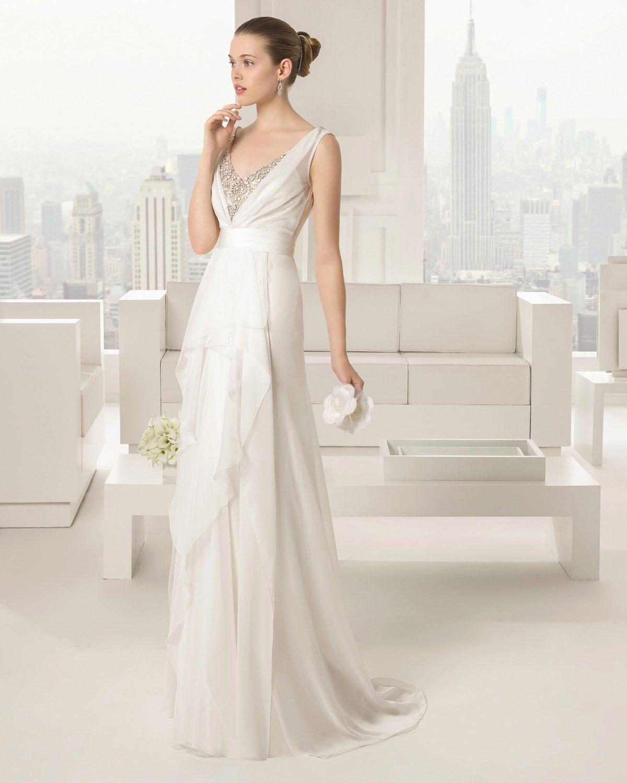 Элегантные свадебные платья фото