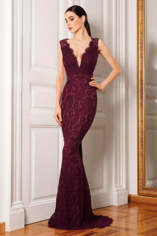Вечерние платье ампир 175
