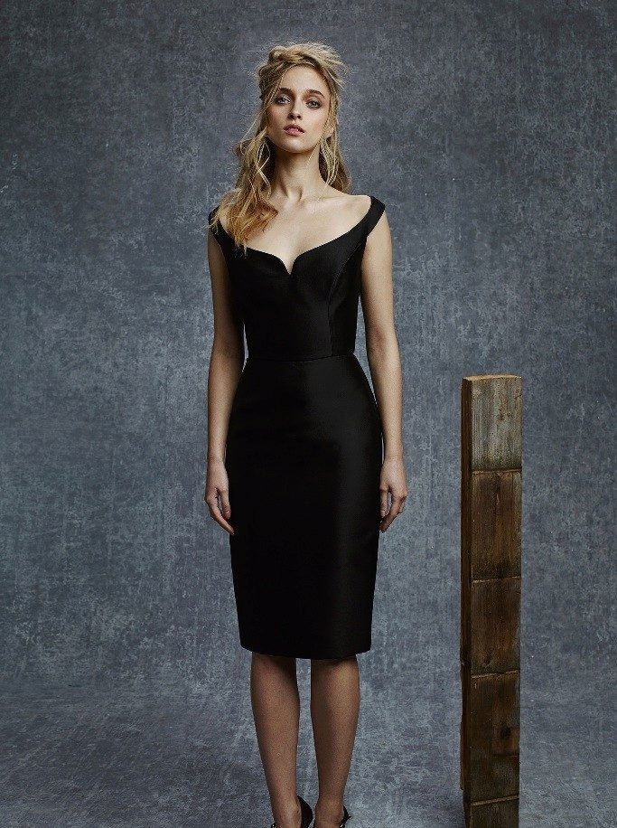 Платье на день рождения черное