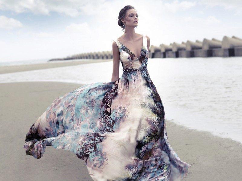 49094dd0069 Вечерние платья из шелка  из натурального и искуссвенного (35 фото)