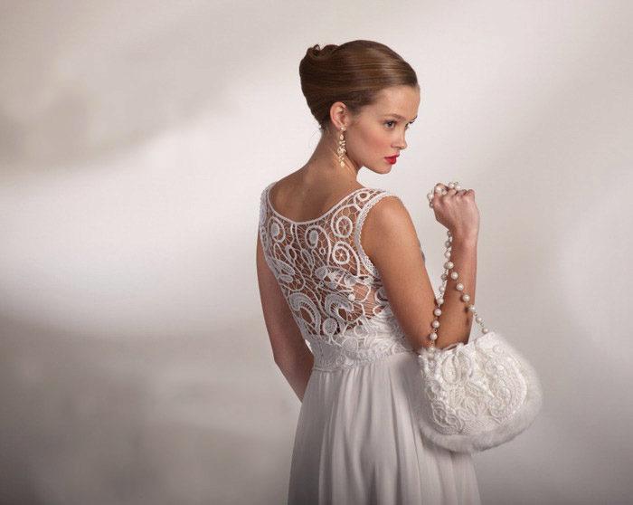 Свадебные платья, вязанные крючком: лучшие фото и модели ...