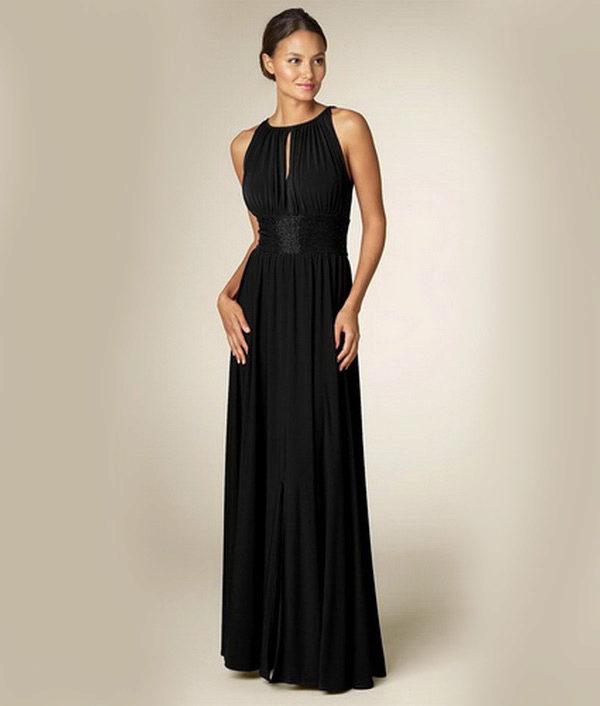 Длинное вечернее платье своими руками фото