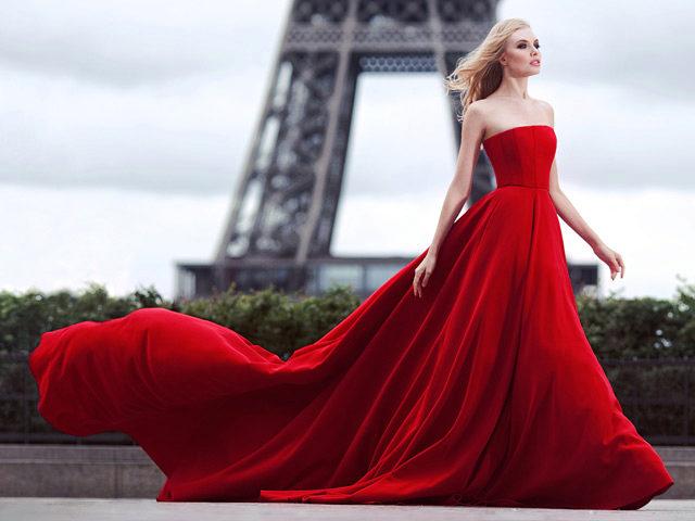krasnye-vechernie-platya Красное платье для девушки и женщины