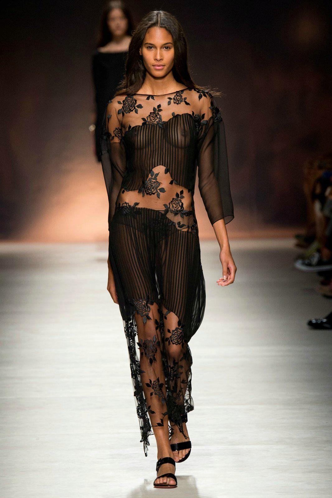 через прозрачное платье онлайн - 9
