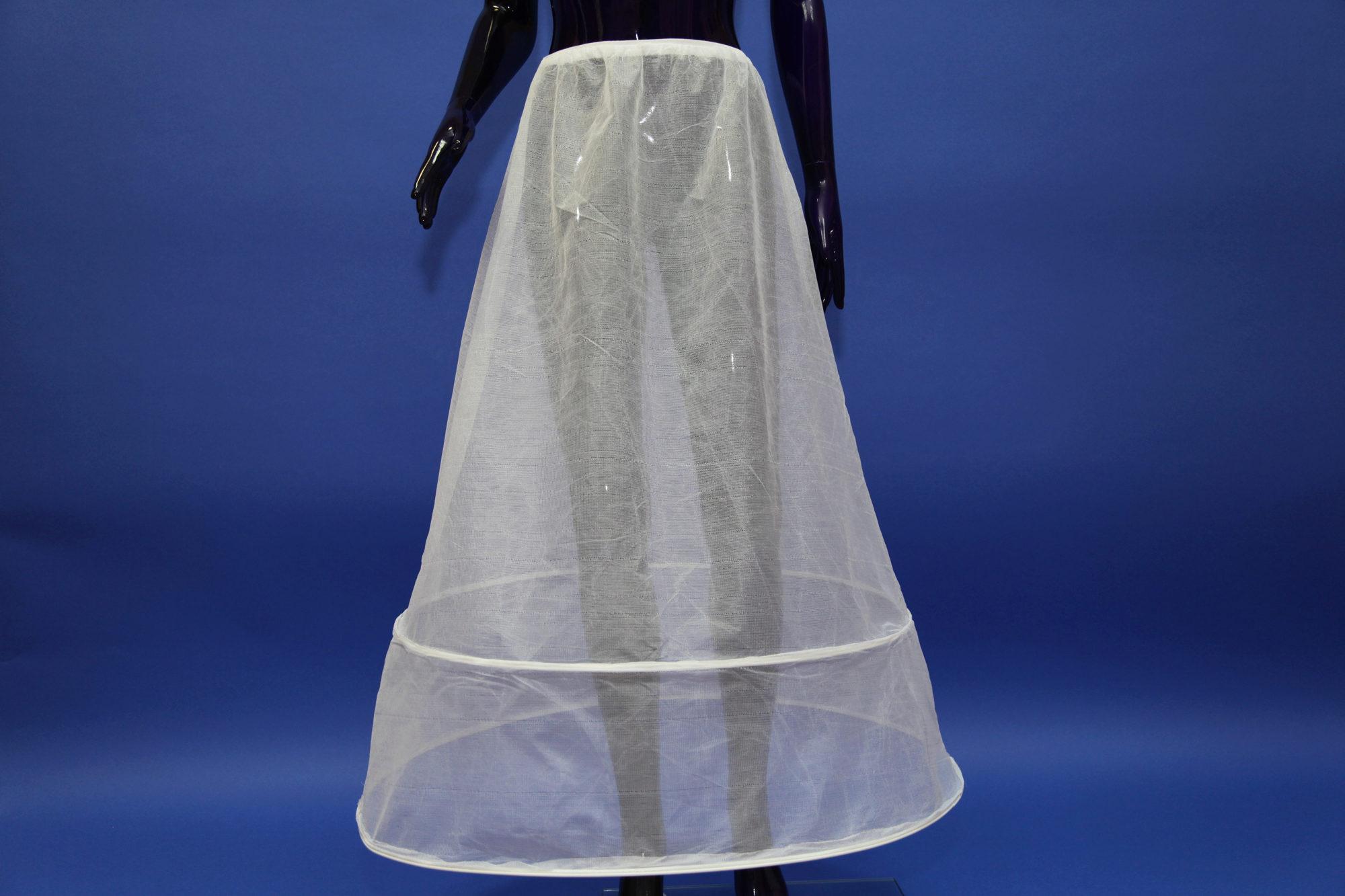 Как сделать кольца под свадебное платье