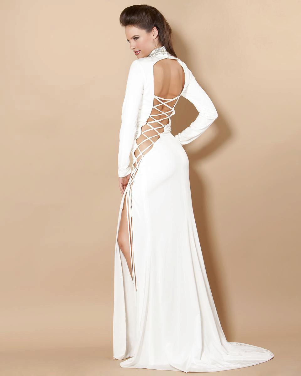 e4b65b21ebf Вечернее сексуальное платье с вырезом на спине и шнуровкой