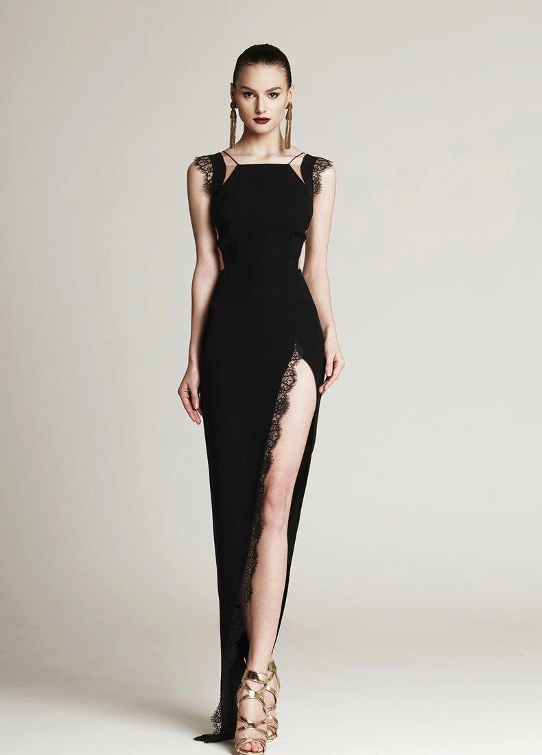 Сексуальные и дерзкие черные платья