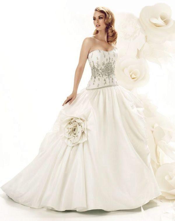 Свадебные платья для блондинок