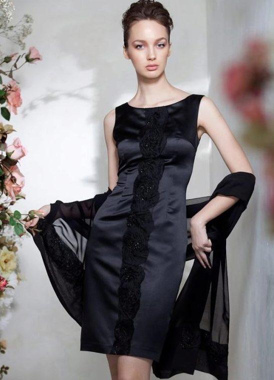 Накидка на нарядное платье