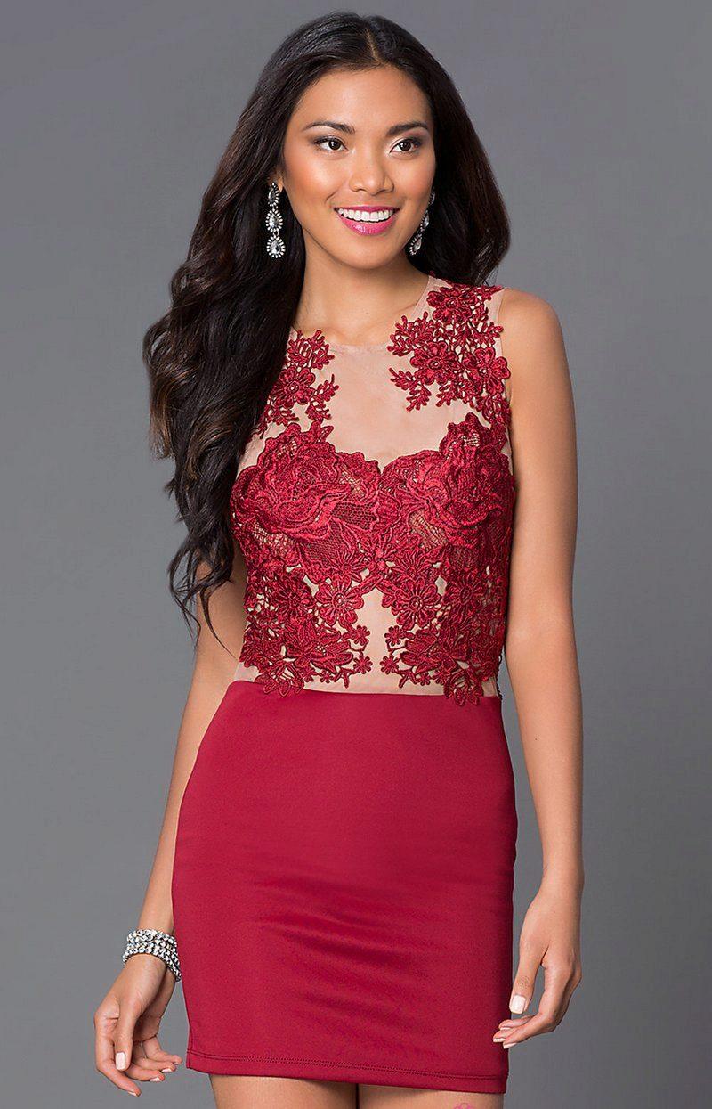 Платье цвет марсала с кружевом