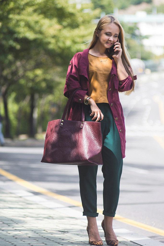 Что носить с цветом марсала