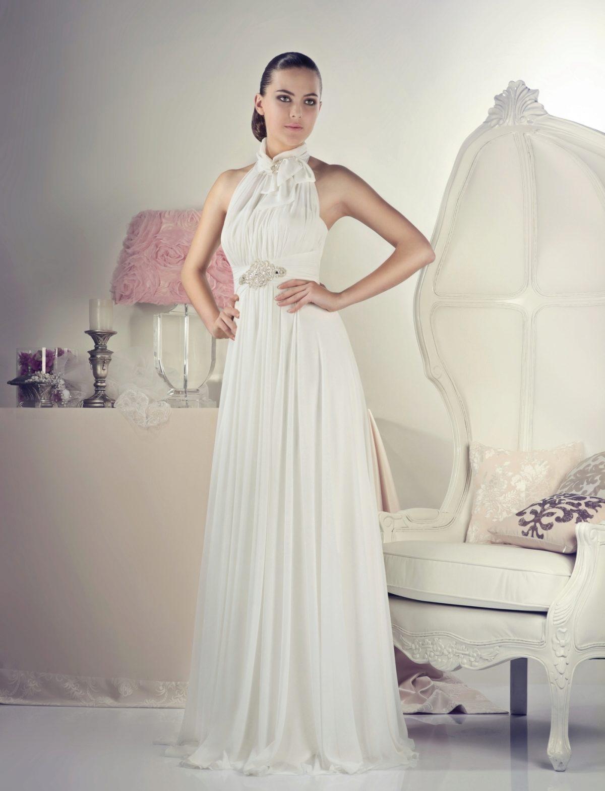 Свадебные платья с американской проймой