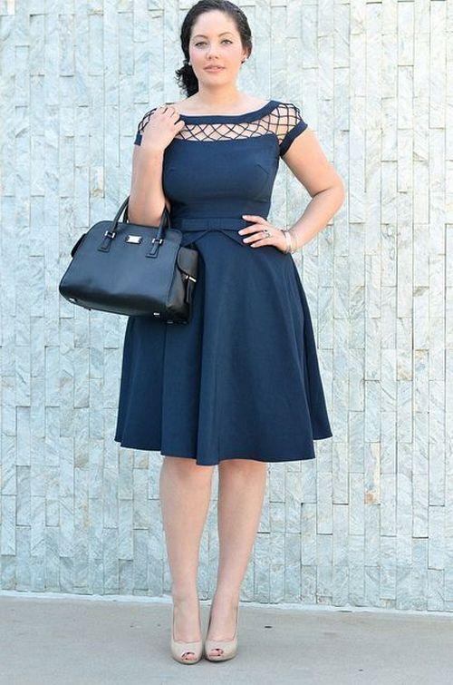 Платье скрывающее недостатки фото