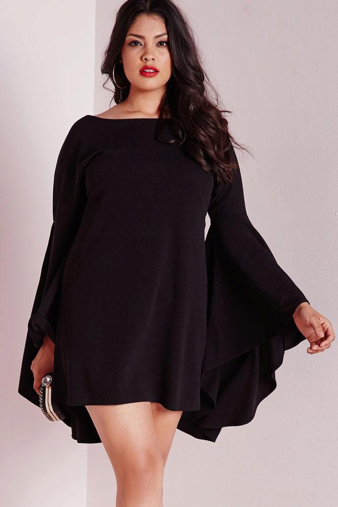92472884bdc Фасоны платьев для полных  для женщин с большим животом