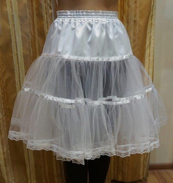 Кольца для короткой пышной юбки