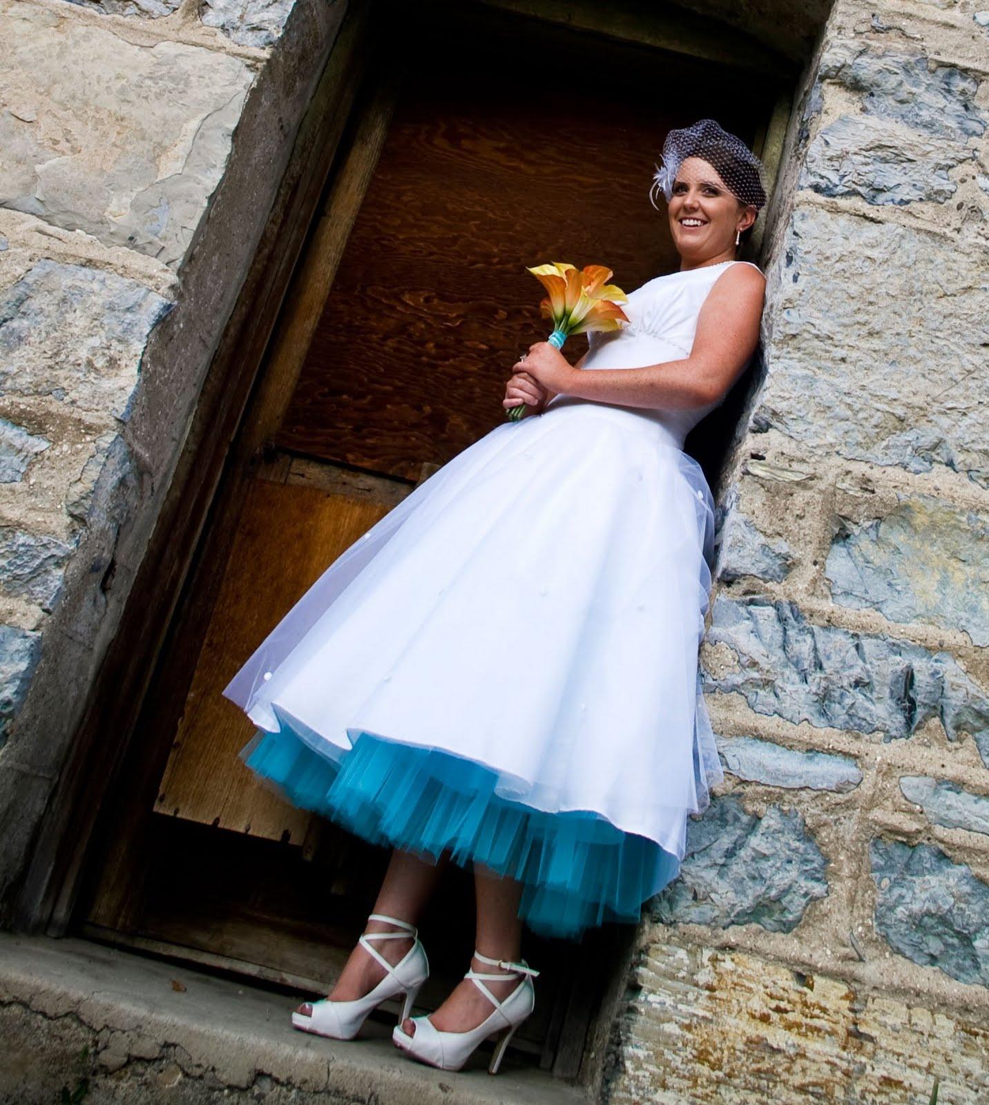 Свадебные платья стиляг