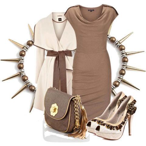 бижутерия для платья болотного цвета