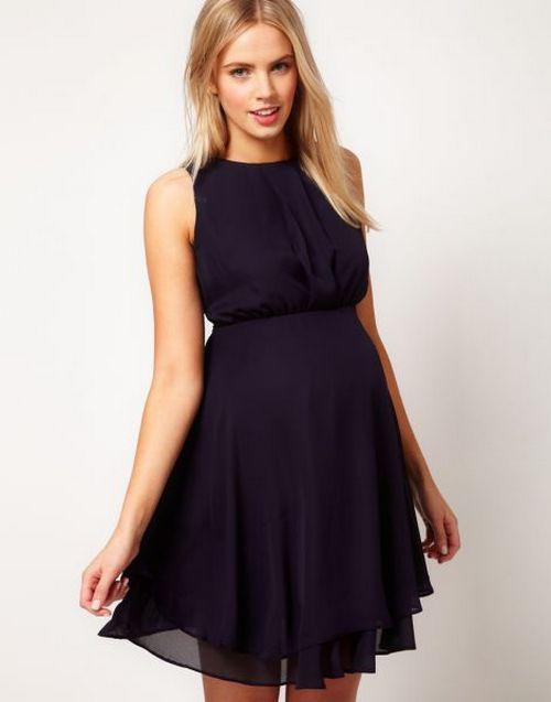 Платья для беременных из шифона своими руками