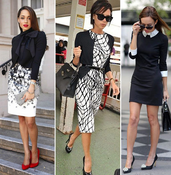 Простые офисные платья