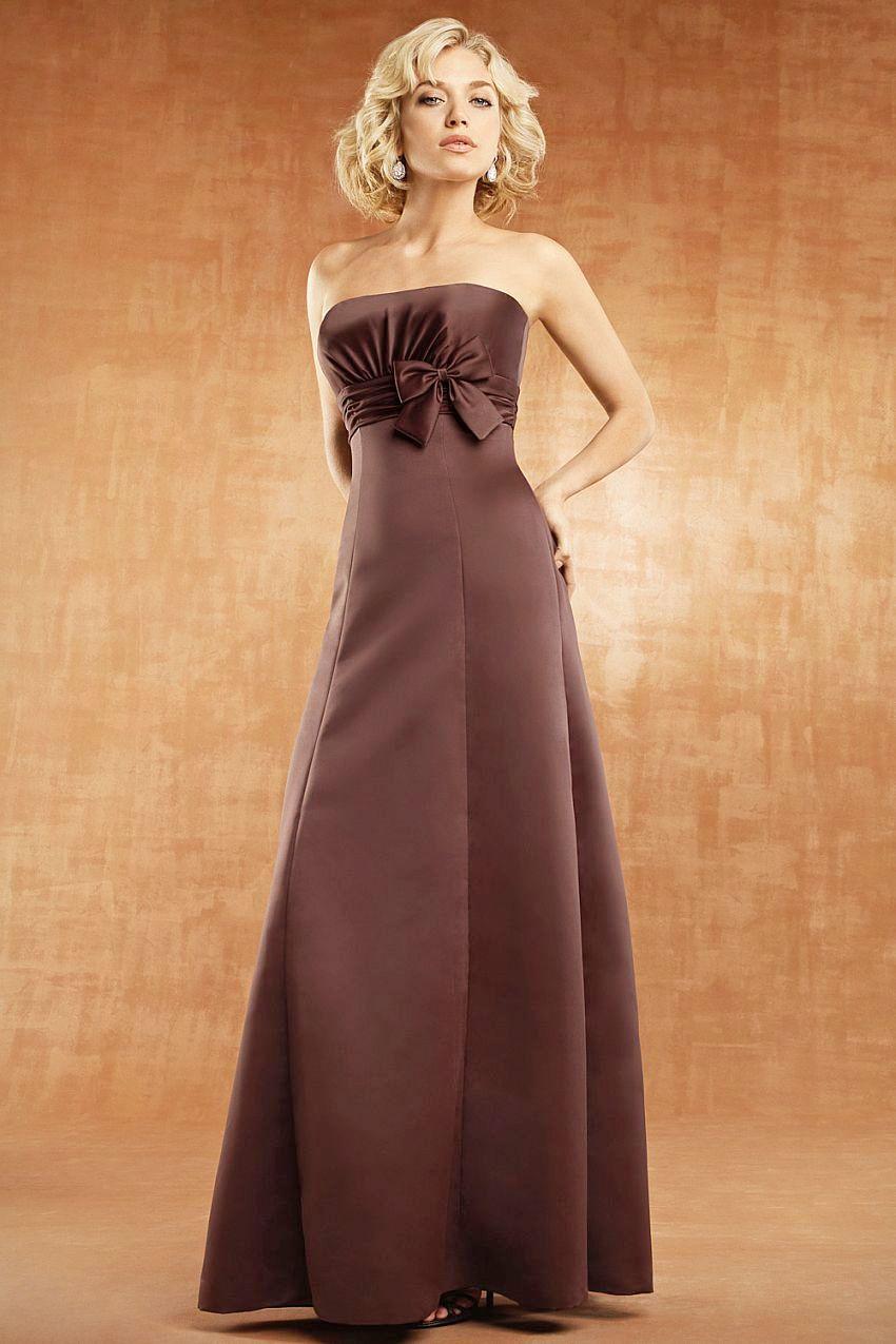 Фото платья цвета шоколада