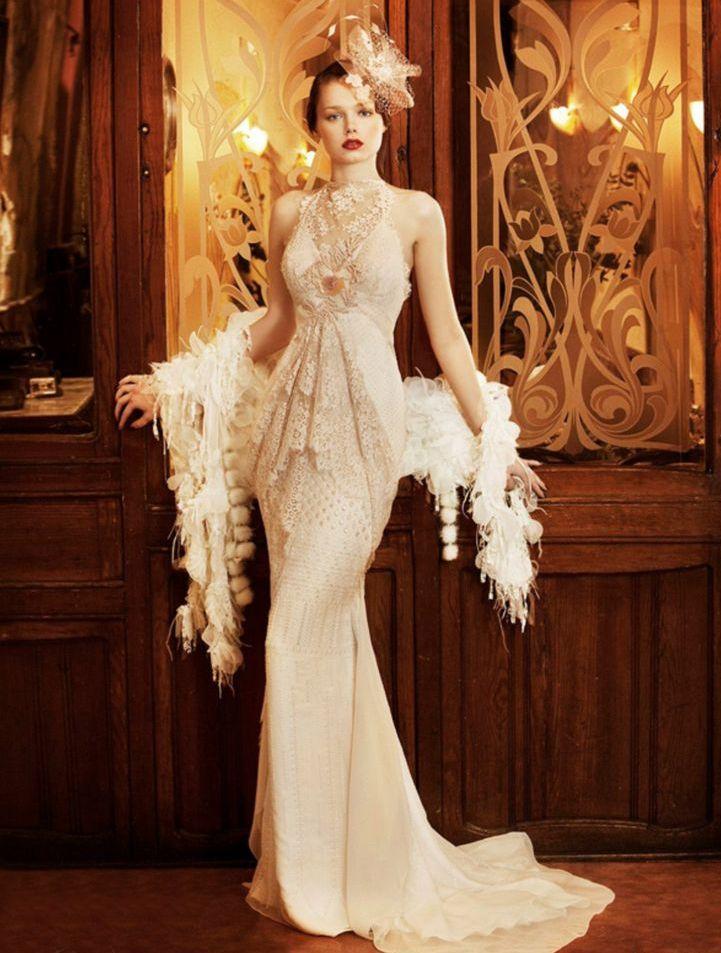 Свадебное платье в стиле 20 годов