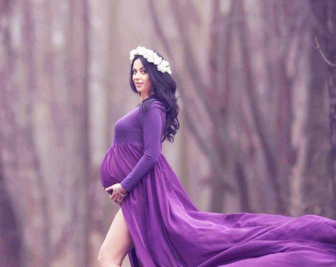 Стильно модно и красиво фасоны платьев для беременных