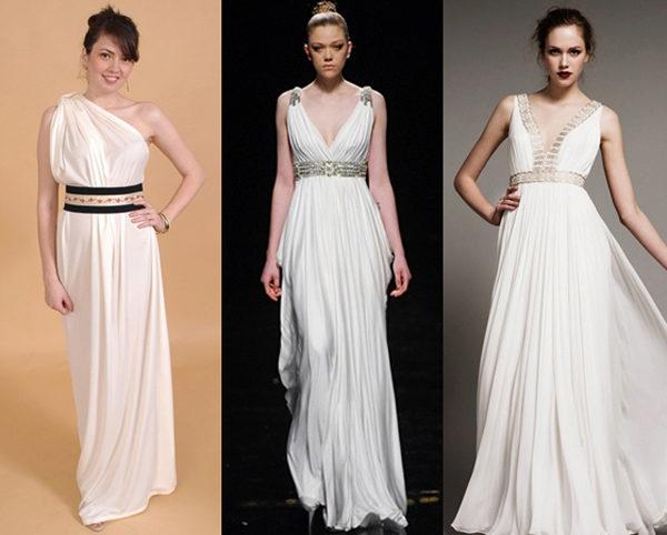 Платье без выкройки греческое