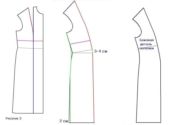 Как сшит платье футляр самой 73