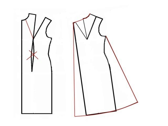 Платье разлетайка своими руками
