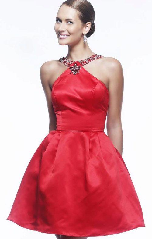 Платье с юбкой полусолнце