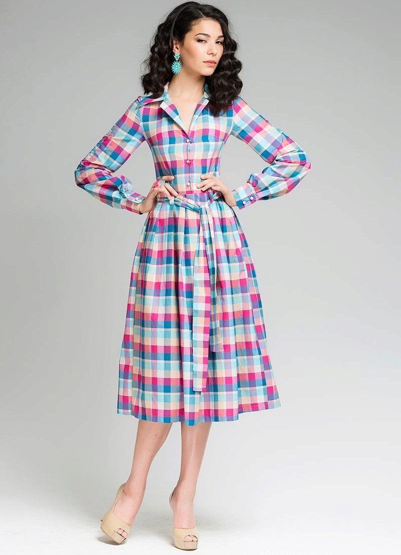 Выкройка платья в татьянку