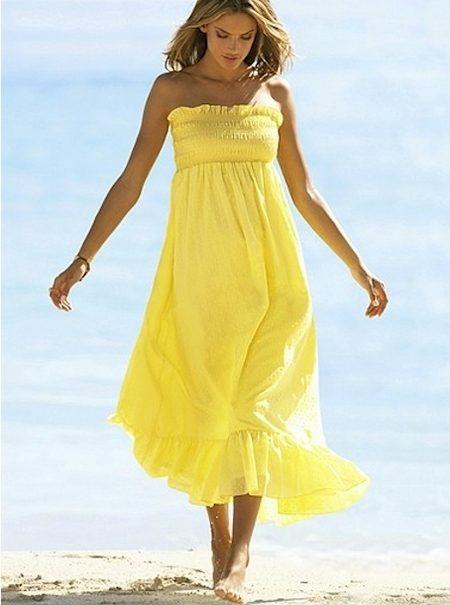 Легкие платья для моря