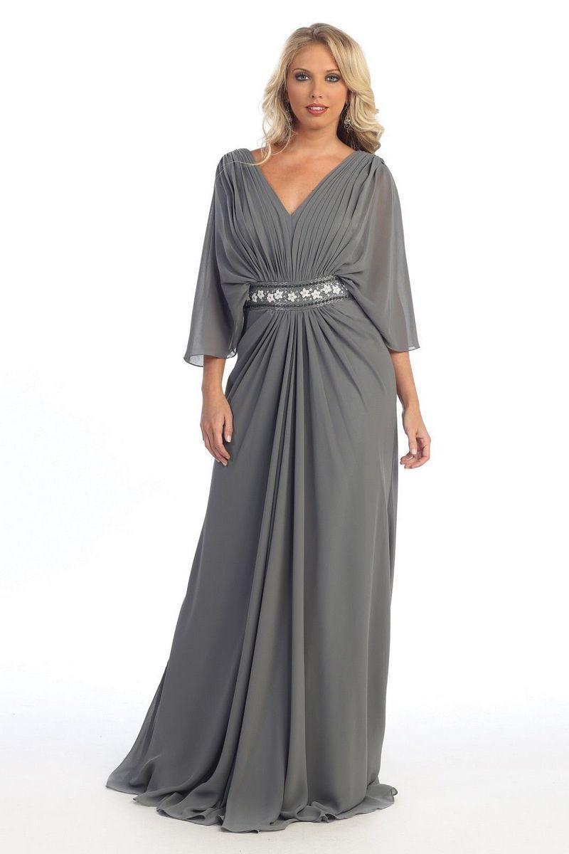 4ce5df32d45 Длинные платья для полных с длинным рукавом  платье большого размера ...