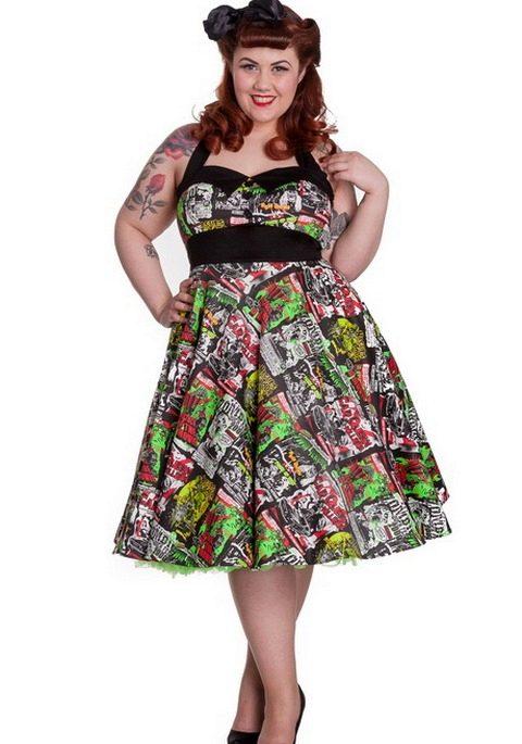 Платья фото для полных 60 годов