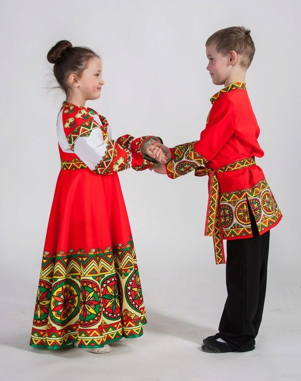 сарафан для детей русский народный фото