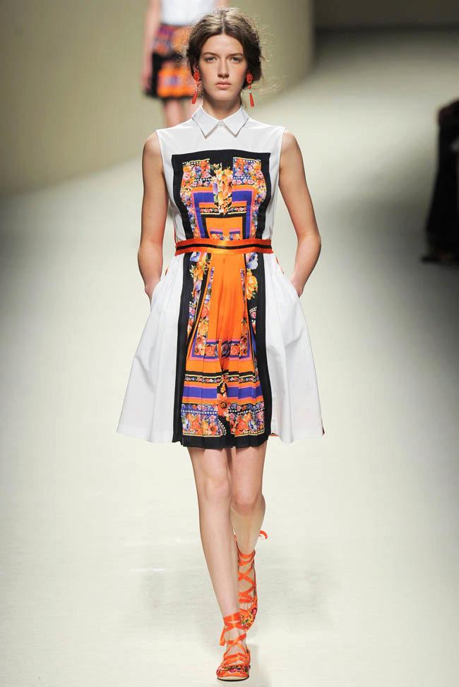 Летнее платье с запахом 110