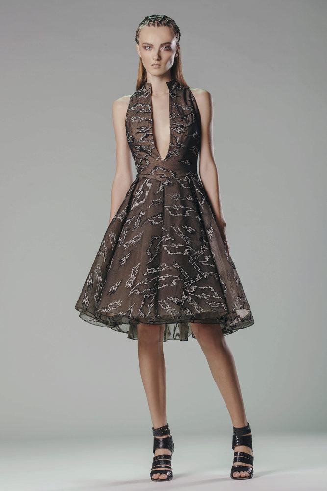 Вязаные платья для лета