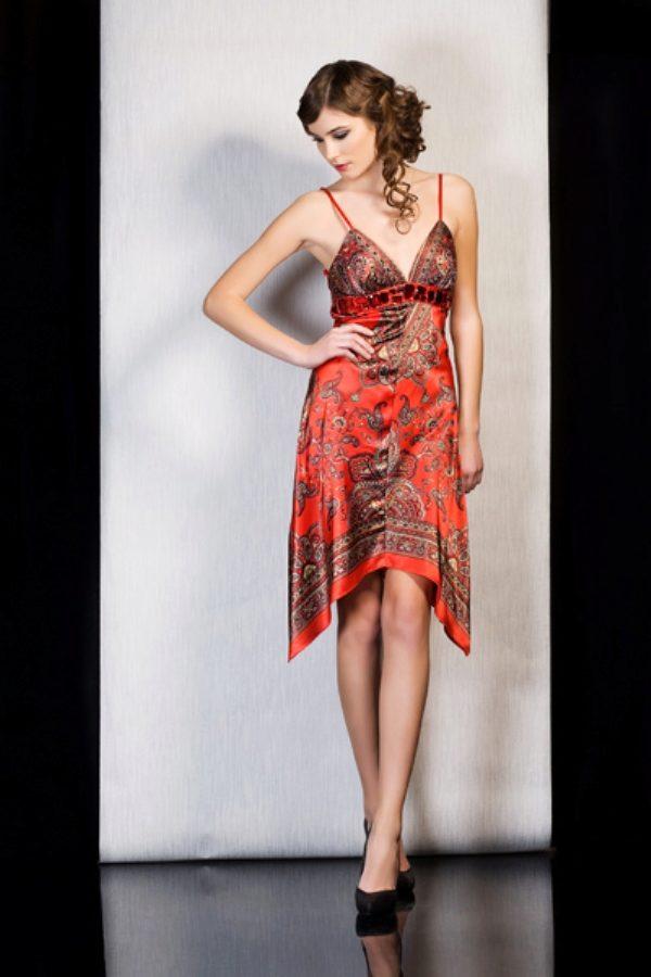 Как сделать из платка платье