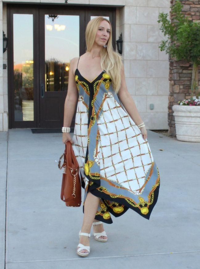 Длинные платья и как его сшить 101