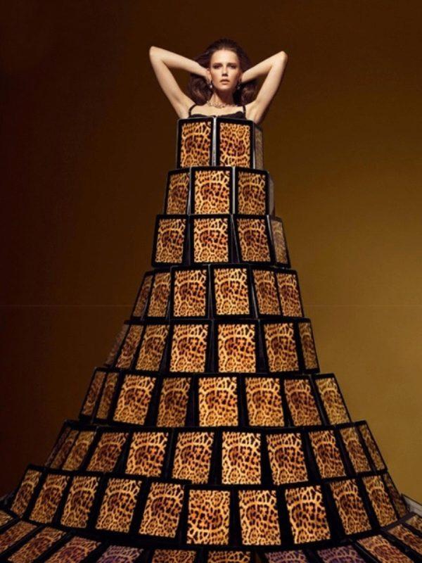 Оригинальное платье своими руками фото