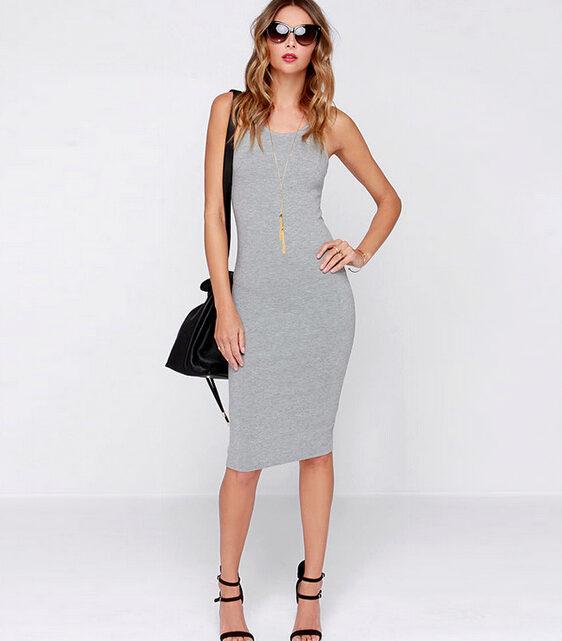 def8c5a9207 Платье-майка  с чем носить