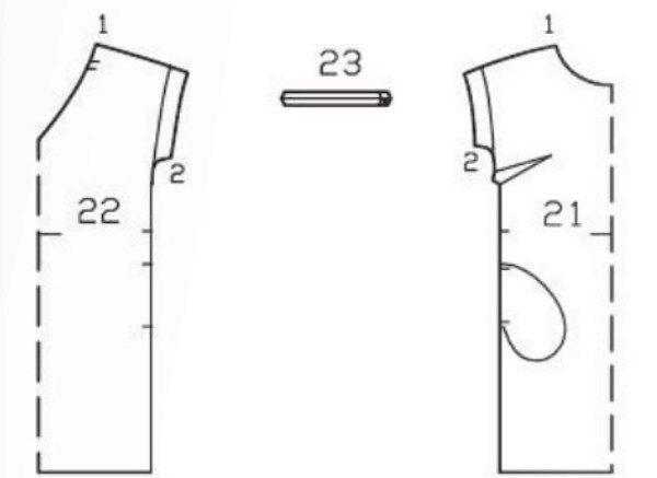 Выкройки платья с рукавом бурда