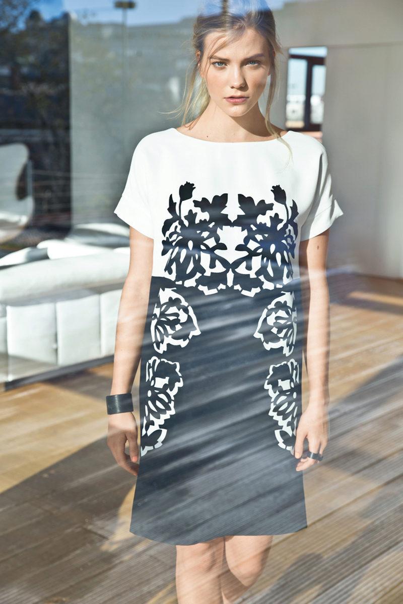 Выкройка платья с цельнокроеным рукавом три четверти фото 880