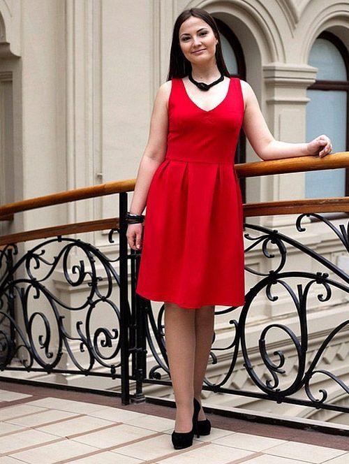 Платье колокол без талии