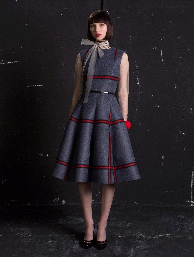 Модное платье осень 2017 купить