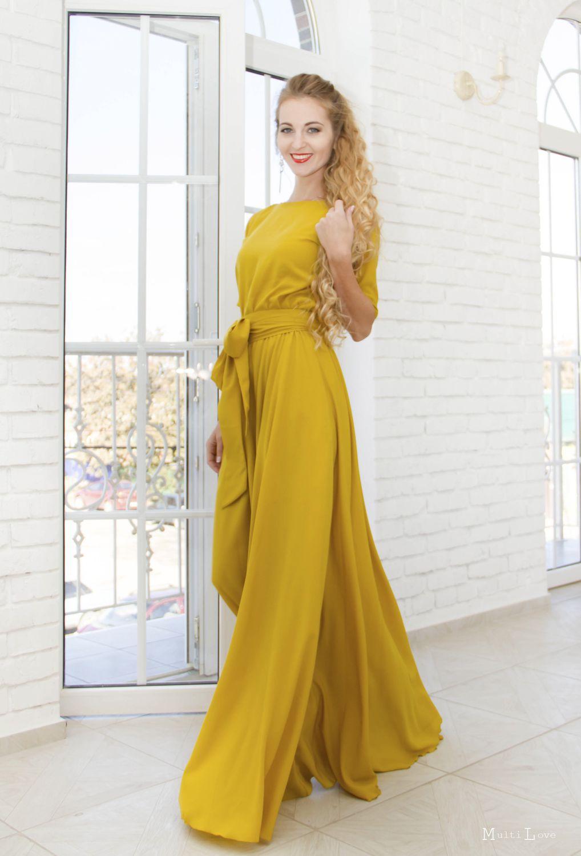 c5f7e4ab7c73 Платья из крепдешина  фасоны и модели, летние и модные, для полных ...