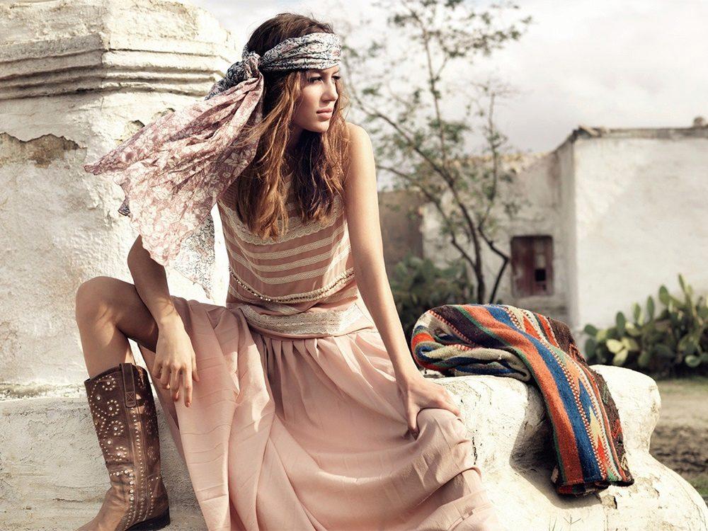 Цветные Платья Бохо