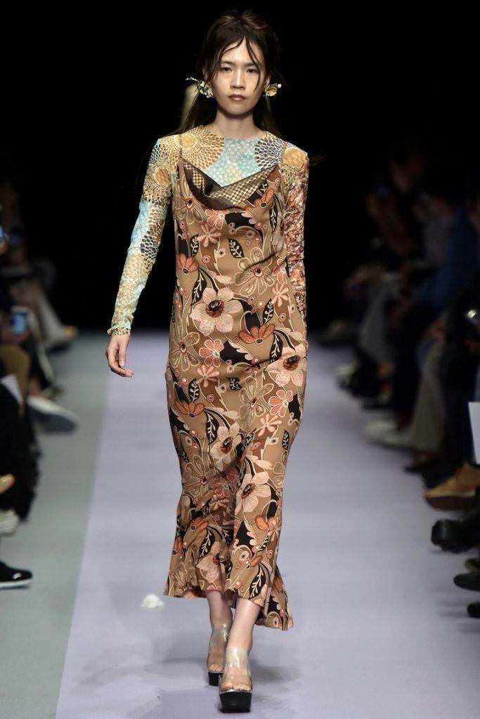 Зимнее платье 2017