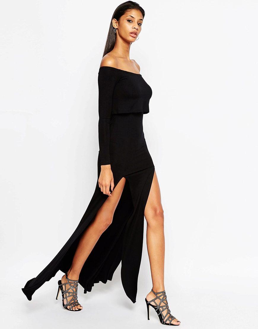 Длина платья под каблук