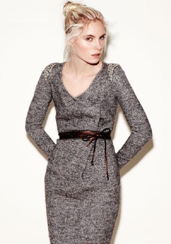 Платье твидовое купить